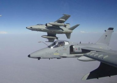 Schierati 4 aerei Amx a Trapani, occhio su Nord-Africa