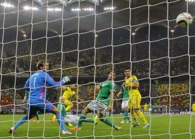 Amichevole Irlanda del Nord-Slovenia 1-0