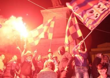 Cagliari in A: festa per tutta la notte
