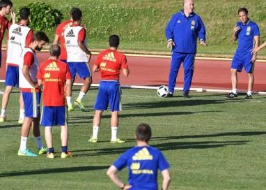 Euro 2016 Spagna oggi primo allenamento
