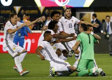 Coppa America: Colombia in semifinale