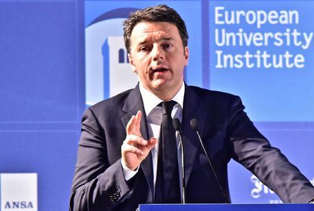 Renzi, referendum sia su merito riforma