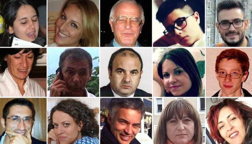 In memoria delle vittime Pugliesi