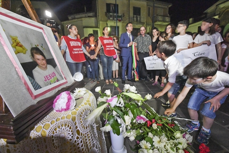 Funerali bimba uccisa nel Beneventano