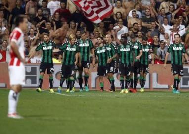 Europa League: Sassuolo-Stella Rossa 3-0