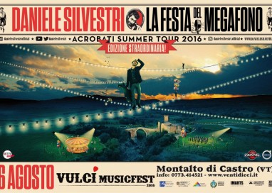 IL 6 AGOSTO AL PARCO ARCHEOLOGICO DI VULCI (VT) PER IL VULCI MUSIC FEST