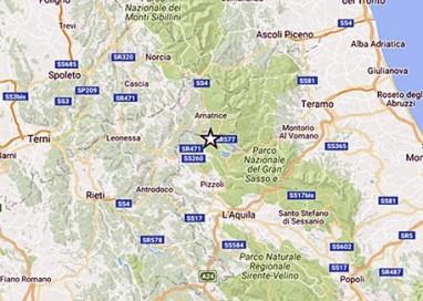 Terremoto, scossa 4,4 nell'Aquilano
