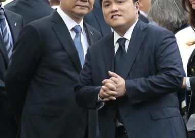 Inter: Zhang e Thohir a Milano lunedì