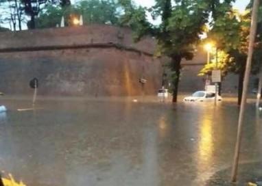 Maltempo: fiume d'acqua a Licata