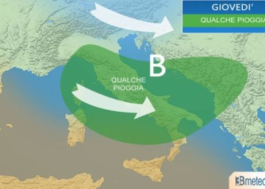 le previsioni per le aree terremotate