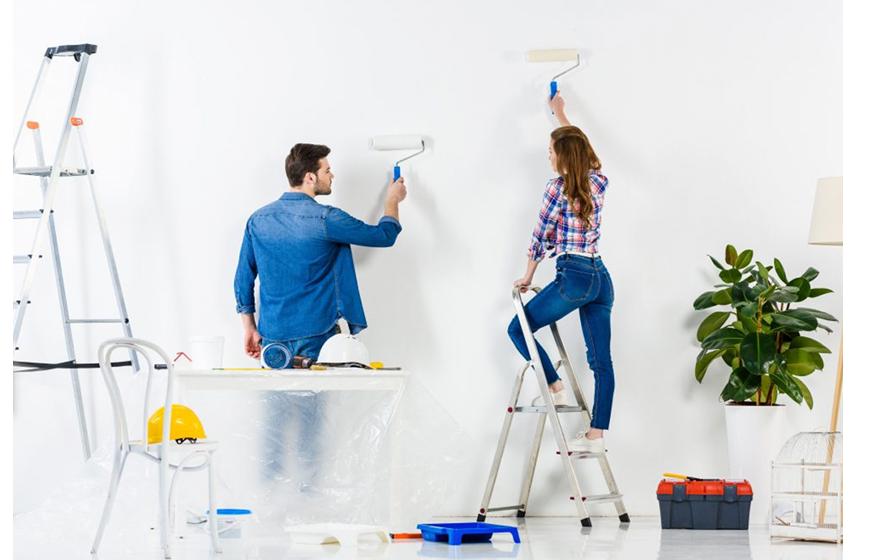 Imbiancare casa quanto costa e come scegliere tra fai da for Quanto costa imbiancare casa